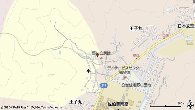 大分県佐伯市鶴望3131周辺の地図