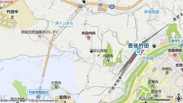 大分県竹田市会々2797周辺の地図