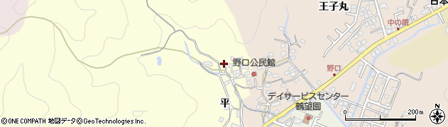 大分県佐伯市鶴望3092周辺の地図
