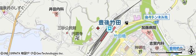 大分県竹田市会々2348周辺の地図