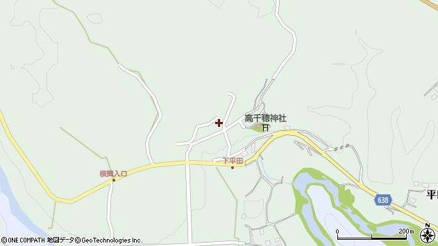 大分県竹田市平田924周辺の地図