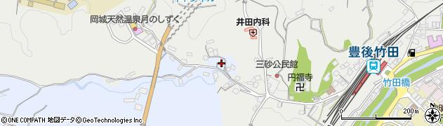 大分県竹田市飛田川3548周辺の地図