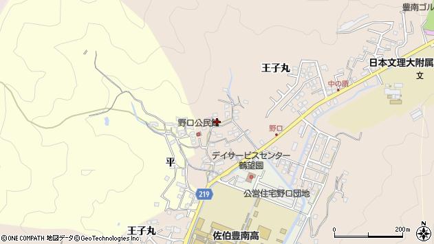 大分県佐伯市鶴望3220周辺の地図