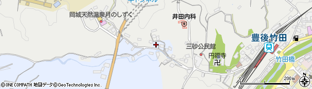 大分県竹田市飛田川3546周辺の地図