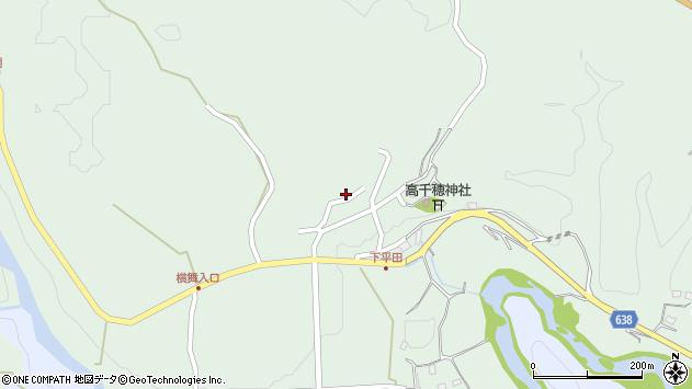 大分県竹田市平田958周辺の地図