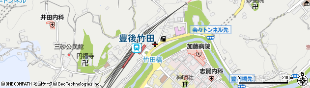 大分県竹田市会々2328周辺の地図