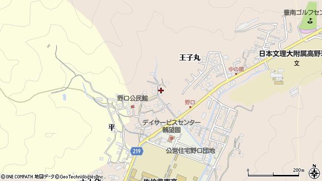 大分県佐伯市鶴望3427周辺の地図