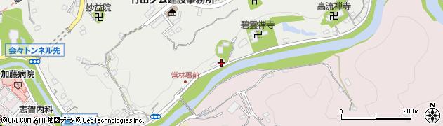 大分県竹田市会々2014周辺の地図
