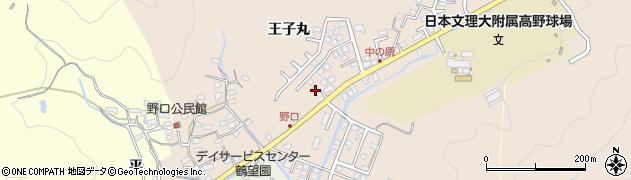 大分県佐伯市鶴望3467周辺の地図