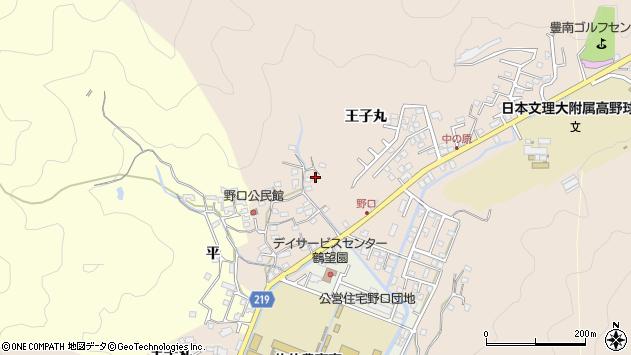 大分県佐伯市鶴望3426周辺の地図