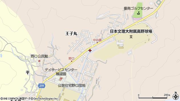 大分県佐伯市鶴望3487周辺の地図