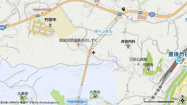 大分県竹田市飛田川3519周辺の地図