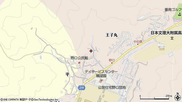 大分県佐伯市鶴望3224周辺の地図