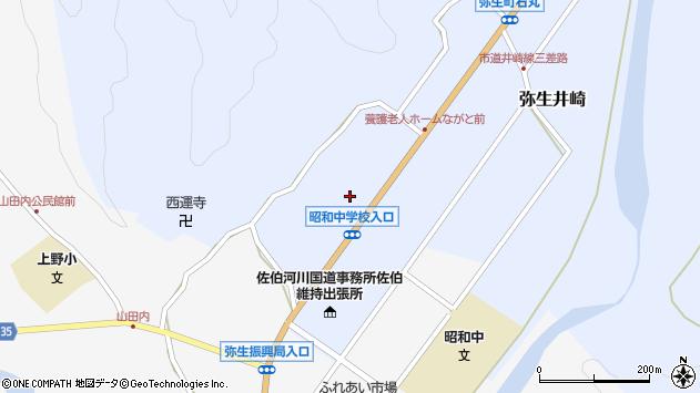 大分県佐伯市弥生大字井崎1330周辺の地図