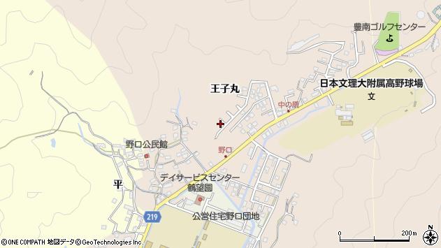 大分県佐伯市鶴望3404周辺の地図