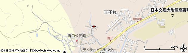 大分県佐伯市鶴望3295周辺の地図