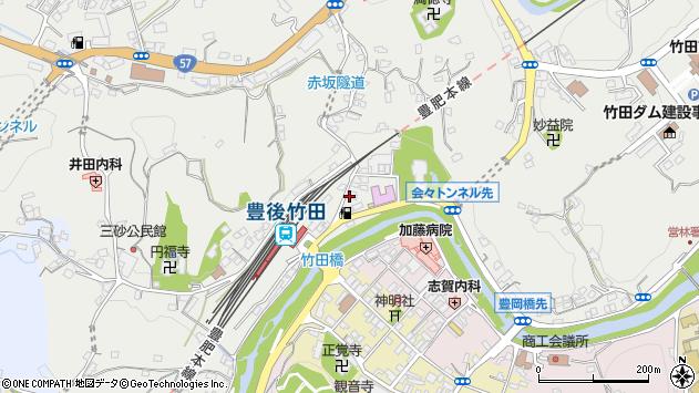 大分県竹田市会々2259周辺の地図