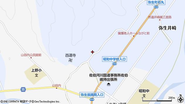 大分県佐伯市弥生大字井崎2484周辺の地図
