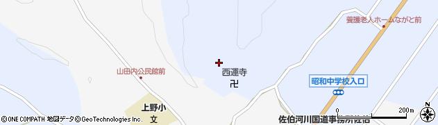 大分県佐伯市弥生大字井崎2540周辺の地図