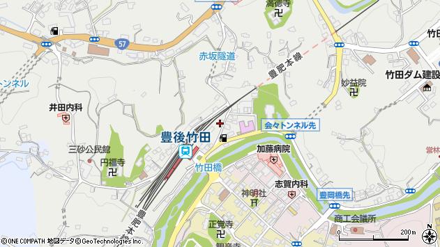 大分県竹田市会々2310周辺の地図