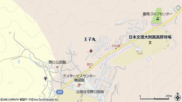 大分県佐伯市鶴望3401周辺の地図