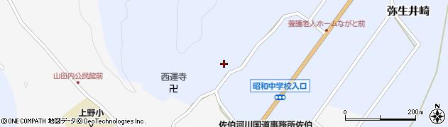 大分県佐伯市弥生大字井崎2483周辺の地図