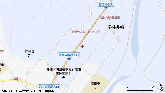 大分県佐伯市弥生大字井崎968周辺の地図
