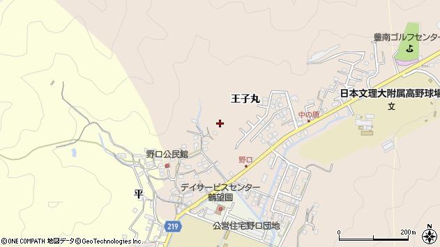 大分県佐伯市鶴望王子丸区周辺の地図