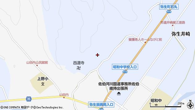 大分県佐伯市弥生大字井崎2481周辺の地図