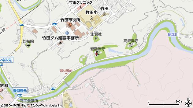 大分県竹田市会々2029周辺の地図