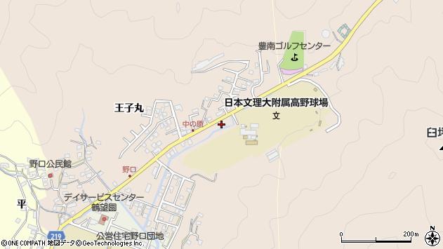 大分県佐伯市鶴望3503周辺の地図