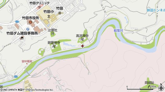 大分県竹田市会々2002周辺の地図