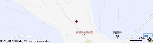 大分県佐伯市弥生大字上小倉243周辺の地図