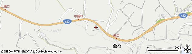 大分県竹田市会々4721周辺の地図