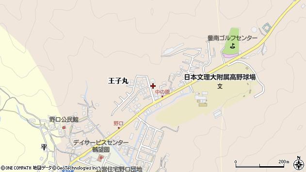 大分県佐伯市鶴望3484周辺の地図