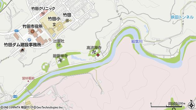 大分県竹田市会々1997周辺の地図