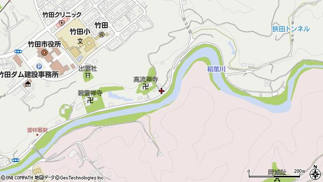 大分県竹田市会々1960周辺の地図