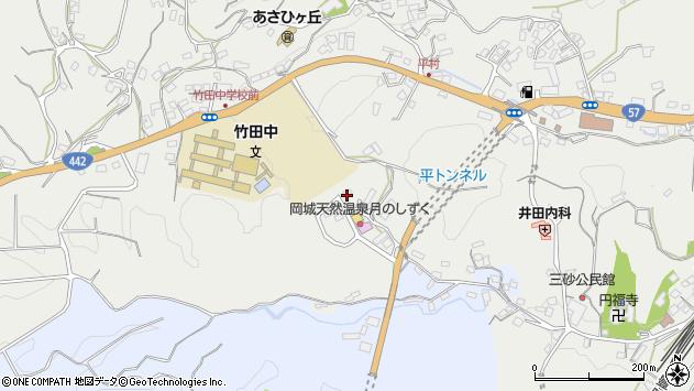 大分県竹田市飛田川3447周辺の地図