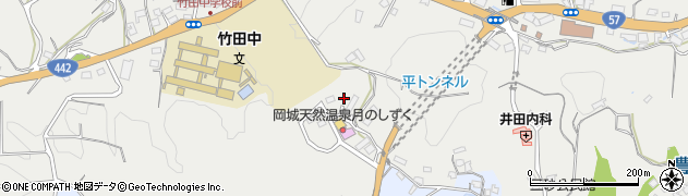 大分県竹田市飛田川3453周辺の地図