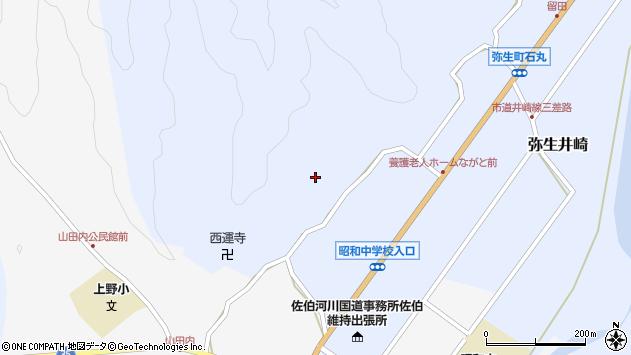 大分県佐伯市弥生大字井崎2436周辺の地図