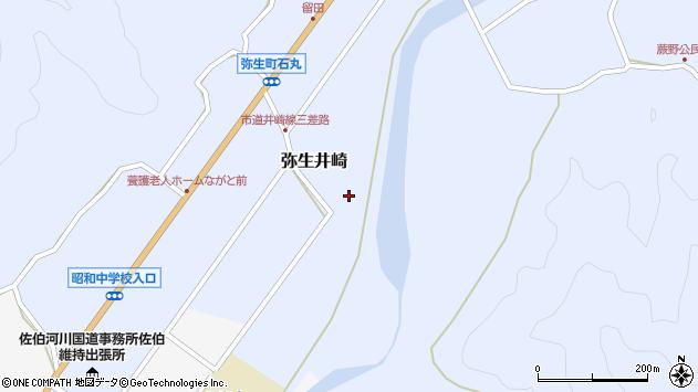 大分県佐伯市弥生大字井崎1073周辺の地図
