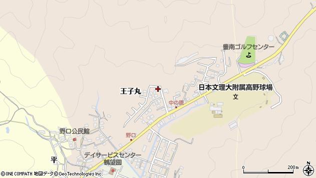 大分県佐伯市鶴望3483周辺の地図