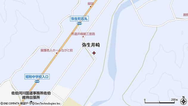 大分県佐伯市弥生大字井崎1031周辺の地図