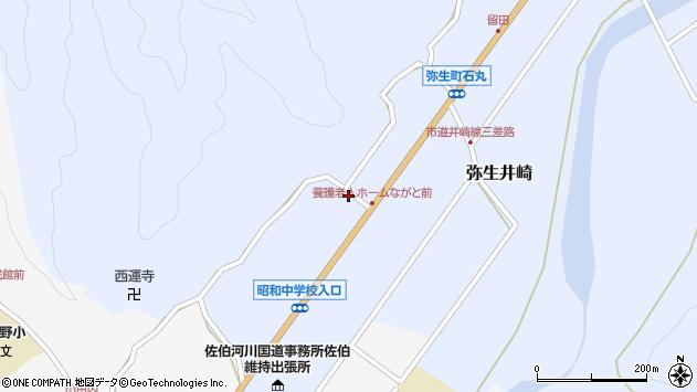 大分県佐伯市弥生大字井崎1371周辺の地図