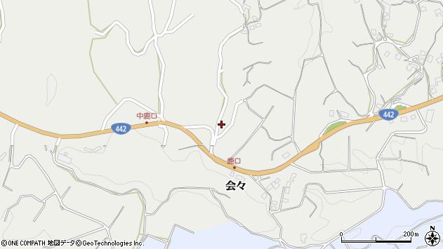 大分県竹田市会々4587周辺の地図