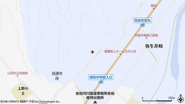 大分県佐伯市弥生大字井崎2329周辺の地図