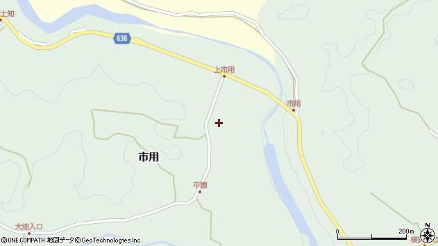 大分県竹田市市用101周辺の地図