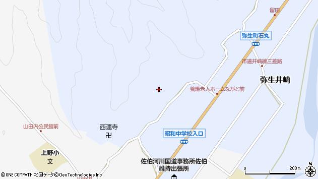 大分県佐伯市弥生大字井崎2335周辺の地図