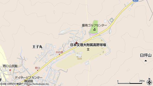 大分県佐伯市鶴望3576周辺の地図