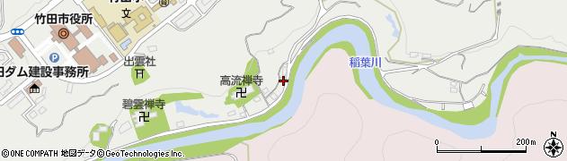 大分県竹田市会々1970周辺の地図